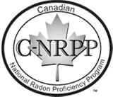 Canadian - Nation Radon Proficiency Program logo